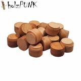 Konusplättchen bzw. Querholzplättchen aus Nussbaum (europäisch) / Durchmesser 15 mm