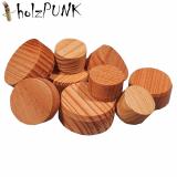Konusplättchen bzw. Querholzplättchen aus Lärche / Durchmesser von 15 bis 40 mm wählbar